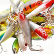 Stock Photo: Fishing lures