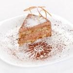 Chocolate cake — Stock Photo #10928779