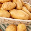 Stock Photo: Fresh potatoes