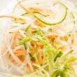 Stock Photo: Coleslaw with shredded cabbage