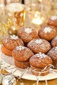 Weihnachts-muffins — Stockfoto