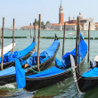 Gondolas in Venice — Stock Photo #11730218