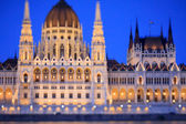 The Hungarian Parliament — Stock Photo