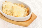 与乳酪煎饼 — 图库照片
