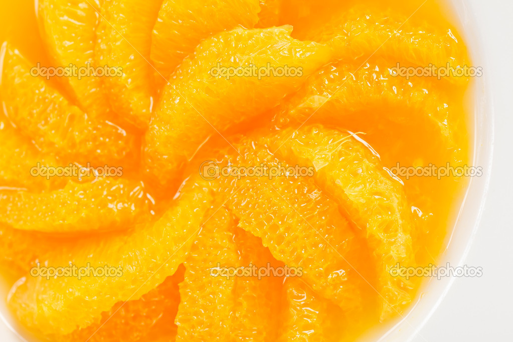 Orange dessert — Stock Photo #11859931