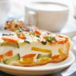 Vegetable cake — Stock Photo