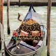 Gandola in Venice — Stock Photo