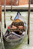 Gandola in Venice — Stock Photo