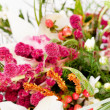 Flowers in the basket - Stock Photo
