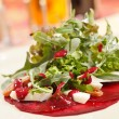 Salad with beet and arugula — Stock Photo #11950434