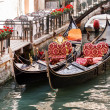 Gondolas in Venice — Stock Photo #11950655