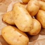 pommes de terre fraîches — Photo
