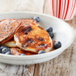 Blueberry pancakes — Stock Photo #12241920