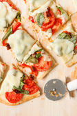 Plantaardige pizza — Stockfoto