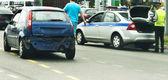 Automobile accident — Stock Photo