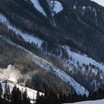 Austrian mountain village — Stock Photo