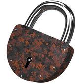 The old rusty lock — Stock Photo