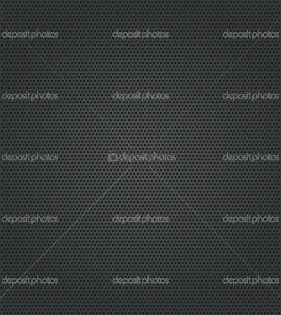 Hole metal texture. Vector Illustration  Stock Vector #10802809