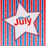 4 июля независимости день фона — Cтоковый вектор