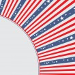 Royalty-Free Stock Vectorielle: Greeting card design for Independence Day