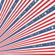 4th of July independence day background — Imagens vectoriais em stock