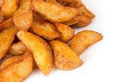 Cuñas de patatas fritas — Foto de Stock