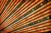 Grunge stylized american flag — Stock Photo