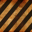 Grunge striped construction background - Foto Stock
