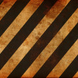 Grunge striped construction background - ストック写真