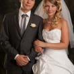 piękne młode małżeństwo — Zdjęcie stockowe