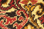 Detail of colorful persian rug — Stock Photo