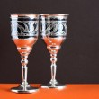 Silver Goblets — Stock Photo #10747090