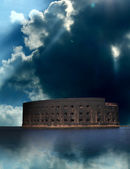 Ancient Sea Fort — Stock Photo