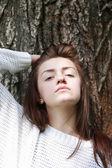 Beauty Girl Portrait — Stock Photo