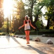 Sunset Fitness - Stockfoto