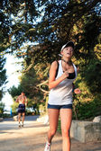 Running Beauty — Stock fotografie