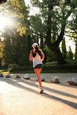 Sunrise Running — Stock Photo
