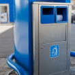 Garbage can on gas station — Stock Photo #11018984