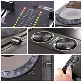 Dj Collage — Stock Photo