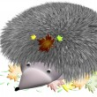 Prickly hedgehog — Stock Photo #12037376