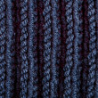 Royalty-Free Stock Photo: Knitted blue wool texture