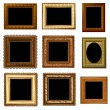 Royalty-Free Stock Vector Image: Set of retro vintage frame