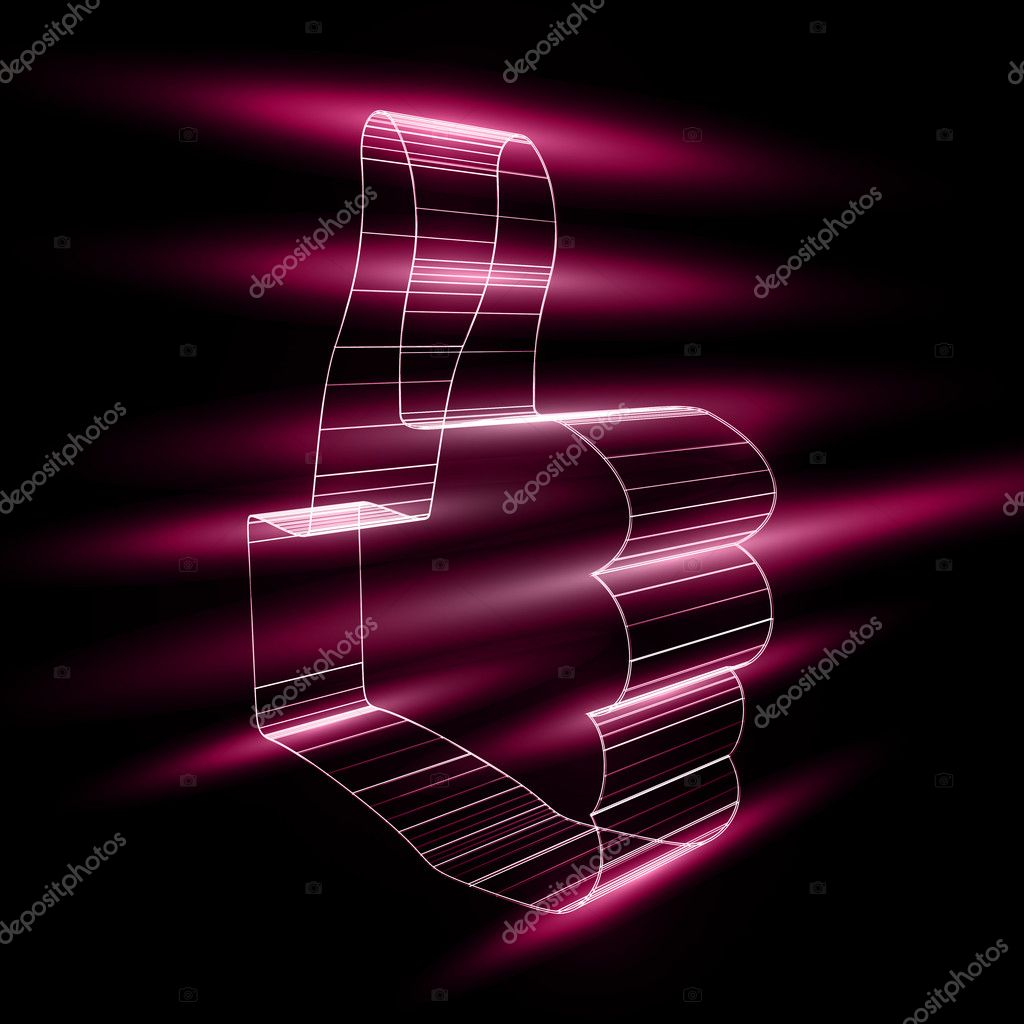 Abstract symbol of LIKE in style 3D  Stock Vector #11348498