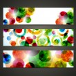 Banner with abstract pattern — Stock Vector #12182087