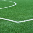 Football field with marking. - Foto Stock