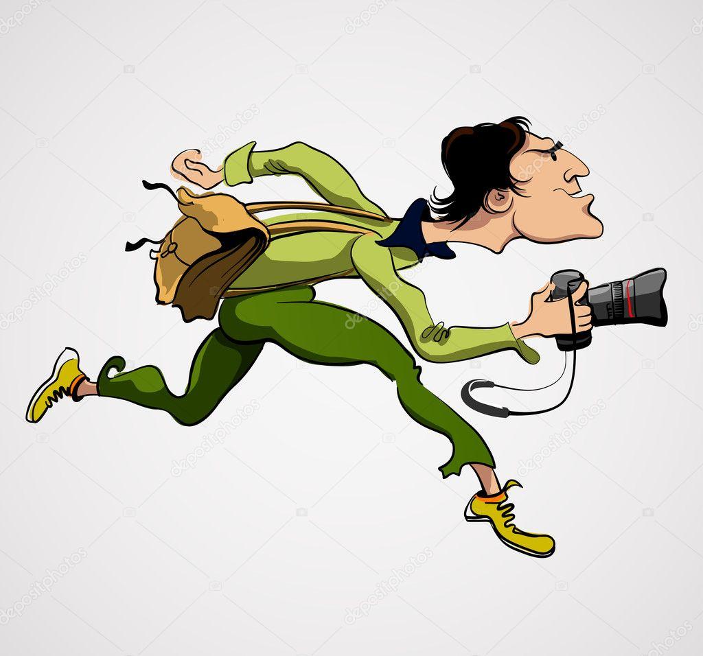 卡通照相机素材