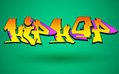 Graffiti Urban Art Vector Design — 图库矢量图片