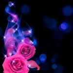 Roses and smoke — Stock Photo #10848136