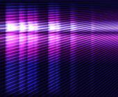 Glowing violet vector background — Stock Vector