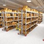 Warehouse indoor — Stock Photo